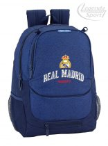 Real Madrid iskolatáska kék