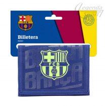 Barcelona pénztárca kék-neon zöld