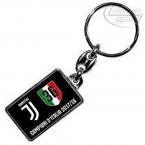 Juventus kulcstartó fekete szögletes