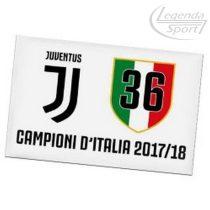 Juventus hűtőmágnes fehér