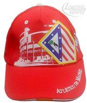 Atletico Madrid baseball sapka piros