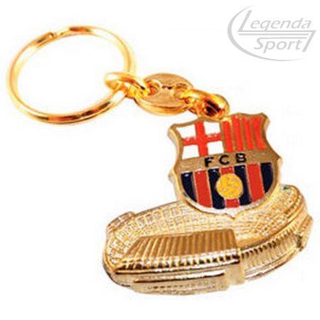 Barcelona kulcstartó stadionos