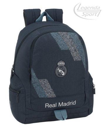 Real Madrid iskolatáska kék-szürke
