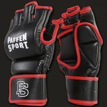 Paffen Contact Grapling MMA kesztyű piros-fekete