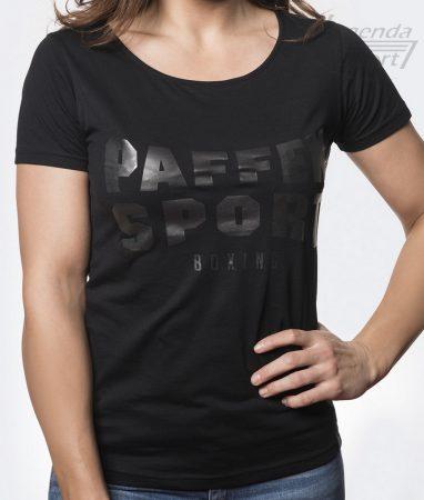 Paffen Black Logo női póló