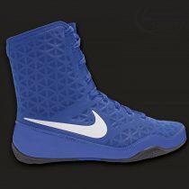 Nike KO bokszcipő kék-fehér