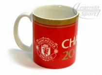 Manchester United bögre piros Champions