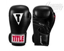 Title Classic Black Max bokszkesztyű, fekete
