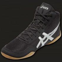 Asics Matflex 5 boksz-és birkózó cipő fekete-ezüst