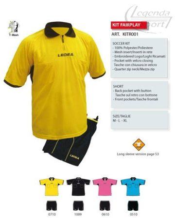 Legea Fairplay játékvezetői mez+nadrág