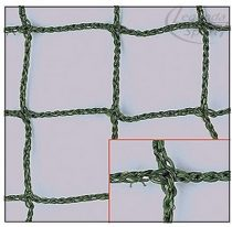 Kültéri labdafogó háló víz,-UV ellenálló zöld, 3 mm vastag/m2