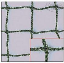 Kültéri labdafogó háló víz,-UV ellenálló zöld, 5 mm vastag