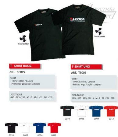 Legea T-shirt Basic rövidujjú póló