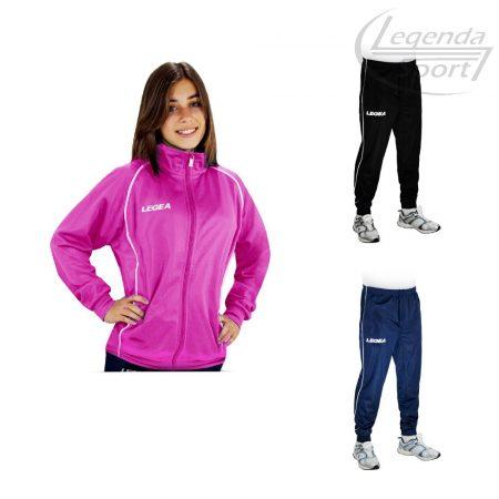 Legea Florida Color Sr. szabadidő melegítő felső+Florida Color Sr. nadrág combo pink-fehér