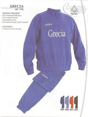 Legea Grecia edzőmelegítő