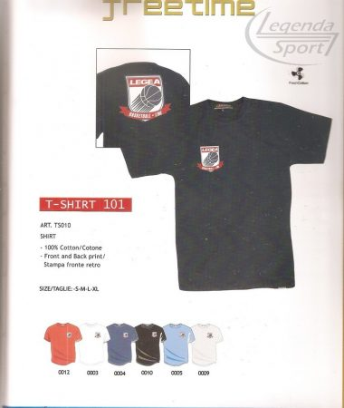 Legea T-shirt 101 rövidujjú póló