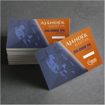 Ajándékártya 20000